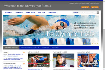 Screenshot of buffalo.edu