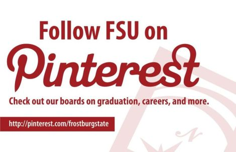 Frostburg State's Pinterest page