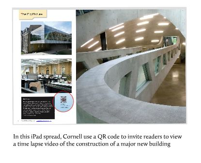 Cornell iPad screenshot
