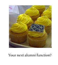 QR cupcakes photo