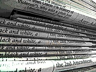 Newspapers. Wikipedia Commons.