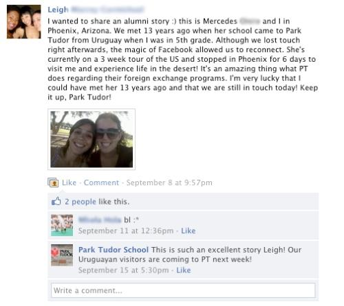 Facebook superfan