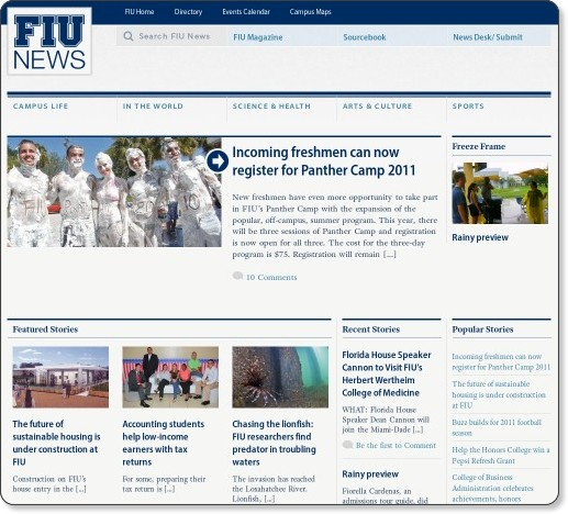 News at FIU - Florida International University