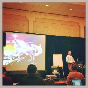 Jeffrey Martin talking at CASESMC 2013.