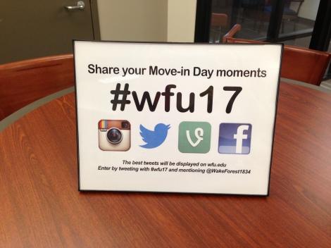 #wfu17 Flyer