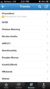 #wfu17 Trends