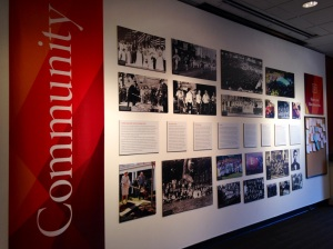 Elon University History Exhibit