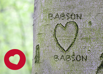 Babson is asking for campus love stories. http://www.babson.edu/alumni/class-news/Pages/love-stories.aspx