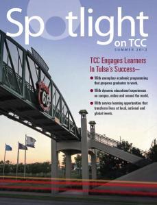 TCC Spotlight, the magazine of Tulsa Community College
