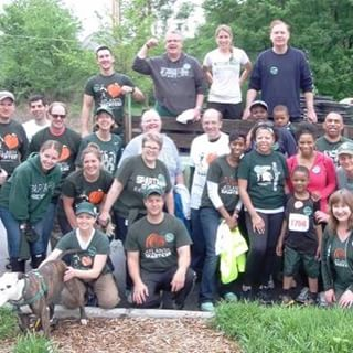 One of the 125 locations that completed MSU Global Day of Service