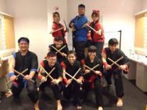 SP's alumni taiko drummers
