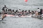 SP's alumni dragon boat team